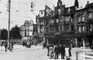 Trümmer Innenstadt