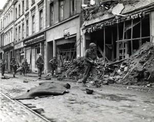 Amerikanische Truppen in Bonn