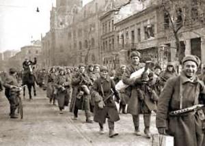 Rote Armee in Leipzig